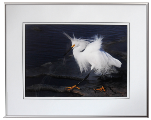 Framed and Double Matted example